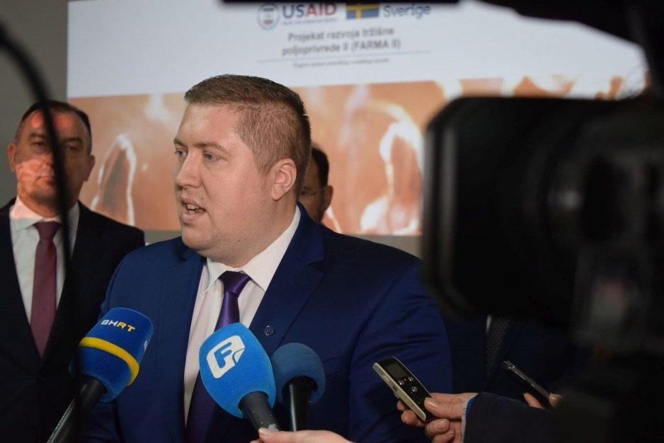 Edin Jabandžić, predsjedavajući Koordinacionog tijela peradara/živinara BiH